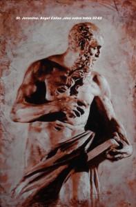 St. Jeronimo. Angel Cañas
