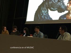 Conferencia en el MUSAC
