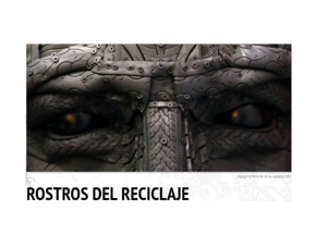 """Angel Cañas en """"LOS ROSTROS DEL RECICLAJE"""""""