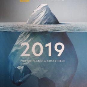 Aparición en la agenda 2019 de National Geographic