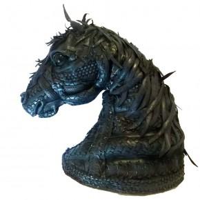 Angel Cañas - Horse -