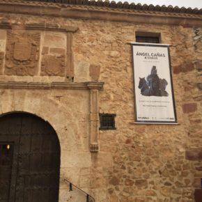 Ángel cañas y SIgnus en el museo Pósito de Campo de Criptana