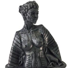"""Angel Cañas """" la dama del confinamiento"""" 2020."""